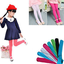 Hot Girls Kids Lovely Tights Stockings Leggings Ballet Dance Solid Candy Colors