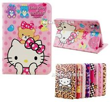 Hello Kitty Lindo Hermoso Smart Cuero Funda Para Ipad Mini 1/2/3 Con Retina