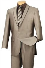 NWT PROM 2014 One Button Vintage Muse Guy's look Reg$399.99 Beige
