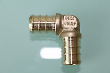 "New 1/2"" PEX Elbow (Lead Free) , Brass Crimp PEX Fitting"