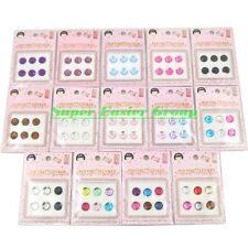 6 pcs/pack Bling Diamond Crystal Home Button Sticker For iPhone 5 4 4S iPad&2&3