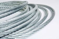 GALVANIZED STEEL WIRE ROPE METAL CABLE 1mm 2mm 3mm 4mm 5mm 6mm 8mm 10mm