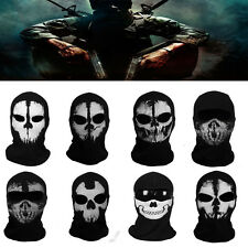 Call of Duty 10 Balaclava Face Skull Mask Ghost Bike Skateboard Hood Cos Costume