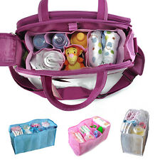 Nursing Baby Travel Storage Diaper Bags Inner Organizer Milk Bottle Divider CA13