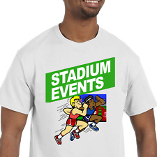 Stadium Events T-Shirt NEW (NWT) *Pick your color & size* - (NES Nintendo game)