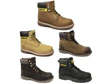 Caterpillar COLORADO Mens Nubuck Leather Goodyear Welted Warm Lace-Up Work Boots