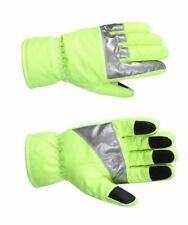 Rothco 5487 High Visibility Safety Green Waterproof Gloves With Reflective Tape