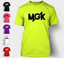 MGK T-Shirt Machine Gun Kelly Lace Up Est. Music Cleveland Rap T Shirt Tee NEON