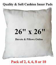 "26"" Cushion Inner Inserts Synthetic Cushion Pads Hollowfibre Filling"