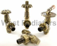 Abbey Gothic Traditional Cast Iron Radiator Valves - FREE NEXT DAY DELIVERY