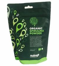 Organic SPIRULINA powder - choose quantity - human food grade certified - bulk
