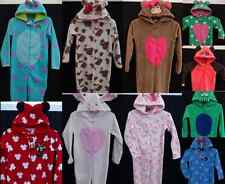 Ladies / Girl's Fleece Onesie All In One Sleepsuit Pyjamas Babygrow BNWT Primark