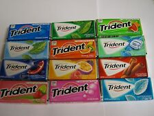 Trident With Xylitol Sugarless Gum 18 Stick pack