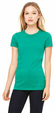 Bella + Canvas Women's New Crewneck 100% Cotton Short Sleeve Basic Tee. 6004