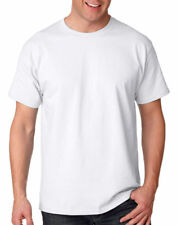 Hanes Men's Tagless Cover Seamed Crewneck Short Sleeve T-Shirt. 5250