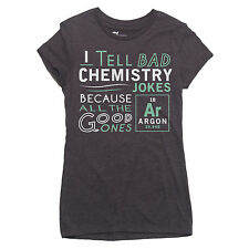 ARGON CHEMISTRY JOKE T-shirt nerdy science geek nerd LADIES S-XXL