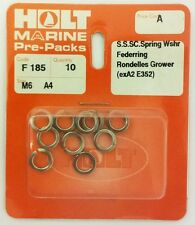 HOLT Marine Prepack Din 127 A4 / 316 Stainless Steel Spring Coil Washers (PPA)
