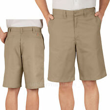 """Dickies Shorts 11"""" Industrial Flat Front Short Pant Relaxed Fit LR303 Work Short"""