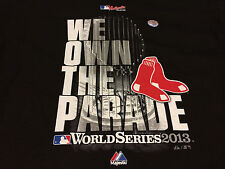 Boston Red Sox 2013 World Series Champions WE OWN THE PARADE T Shirt NWT NEW