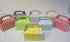 48x Striped Lolly Candy BOXES Party Favours Loot Lolly Party Bag - Candy  Buffet