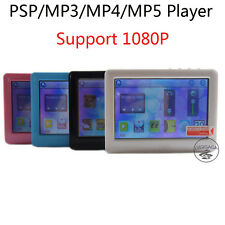4.3 Inch Touch Screen 4GB 8GB  MP3 MP4 MP5 HD Media Player PSP TV-out 1080P FM