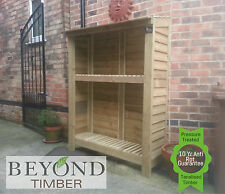 Heavy Duty Pressure Treated Wooden Log/Wood Store/Shed 1500mm (5') TOP QUALITY