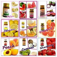 Fruits Essential Oil Variety Scents for Blends,Soap,Cream,Diffuser,Massage 5 ml.