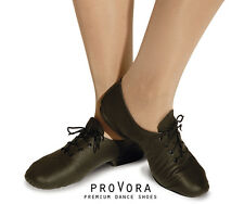 Black Leather Split Sole Dance Jazz/ Modern/ Stage Coach Shoes Childrens & Adult