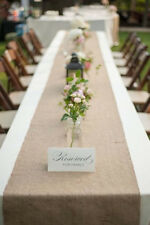 "Burlap Table Runners 14""x72"""