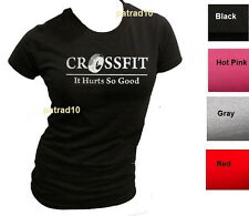 Junior  CROSSFIT T-Shirt Fitness exercise Training Gym Body Building Women Shirt