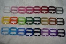 5,25x 1'' (25mm) - Wide Mouth Triglides Webbing Slides -Multi colors