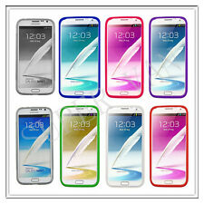 SAMSUNG GALAXY NOTE 2 N7100 ACCESSORIES NEW ULTRA THIN GEL SILICONE CASE COVER