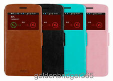 MOFI PU Leather & Steel Smart Wallet Cover Case for Samsung Galaxy Grand 2 G7106