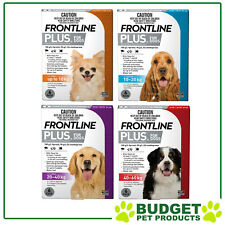 Frontline Plus For Dogs 6 Pack - All Sizes