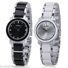 2 Colors Kimio Concise Fashion Womens Quartz Analog Wrist Watch with Round Dial