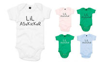 Lil Asskicker, The Walking Dead inspired Kid's Printed Baby Grow