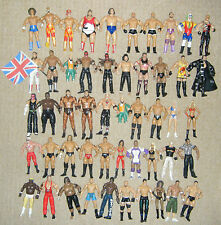 WWE WRESTLING ACTION FIGURE WRESTLERS WWF JAKKS CLASSIC TNA MARVEL ELITE MATTEL