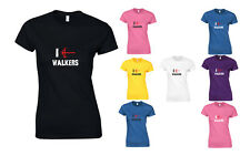 I Crossbow Walkers, The Walking Dead inspired Ladies Printed T-Shirt