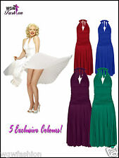 Marilyn Monroe Dress Rockabilly Prom Vintage50s Exclusive 5 Colours Size 8 - 14