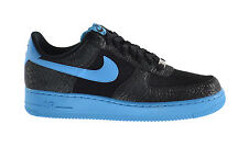Nike Air Force Men's Exclusive Fashion Sneakers Black/Vivid Blue 488298-042