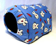 Custom made critter beds for guinea pig rat hedgehog  3 sizes ANIMAL PRINTS