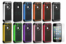 Brand New Shock Dust Proof Hybrid Defender Case Cover For Apple iPhone 5 5S