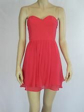 T by Bettina Liano Ladies Fashion Strapless Dress sizes 8 12 Colour CORAL