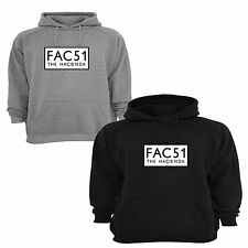 Hacienda FAC51 inspired hoody hoodie MANCHESTER STONE ROSES FACTORY mens