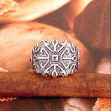 STERLING SILVER RUNIC ENGRAVED RING SOLID .925 /NEW SIZE 5-12 JEWELRY
