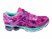 NEW WOMENS MIZUNO WAVE CREATION 15 RUNNING SHOES TRAINERS PINK / MINT