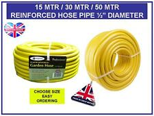 15MTR 30MTR 50MTR REINFORCED KINK RESISTANT QUALITY GARDEN HOSE PIPE WATERING