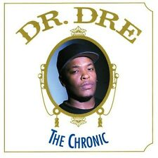 DR. DRE IRON ON T SHIRT TRANSFER / OLD SCHOOL VINTAGE / THE CHRONIC ALBUM COVER
