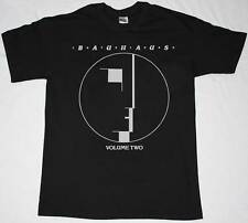 BAUHAUS VOLUME TWO GOTHIC ROCK BAND THE SISTERS OF MERCY NEW RARE BLACK T-SHIRT