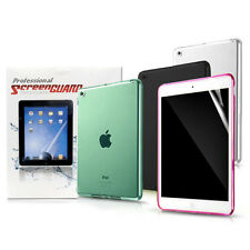 Glossy Clear /Matte Screen Protector/Multi Color Back Cover Case For iPad 2/3/4